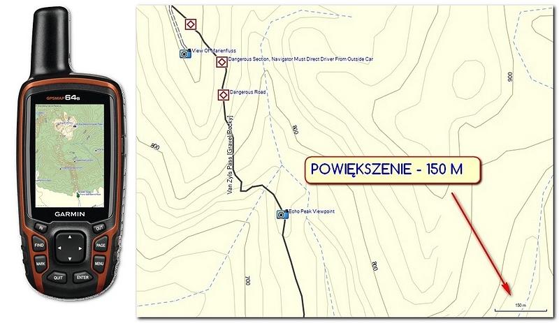 NAMIBIA – Tracks4Africa dla GPS Garmin
