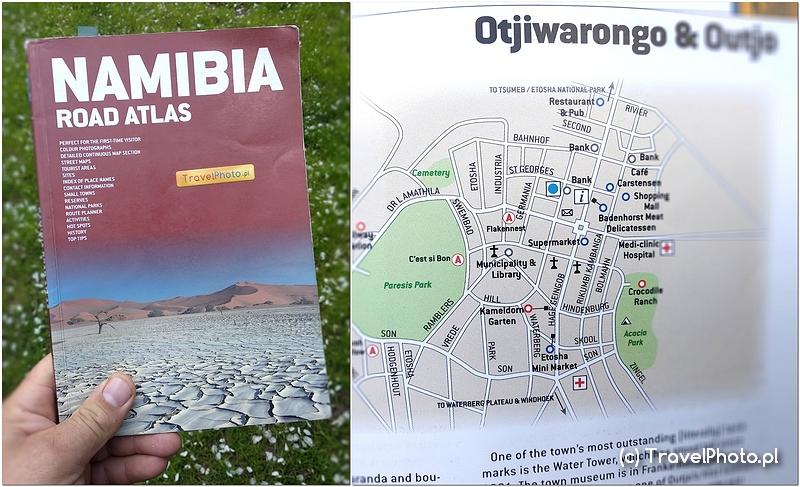 NAMIBIA – atlas dróg MapStudio – nowsza edycja
