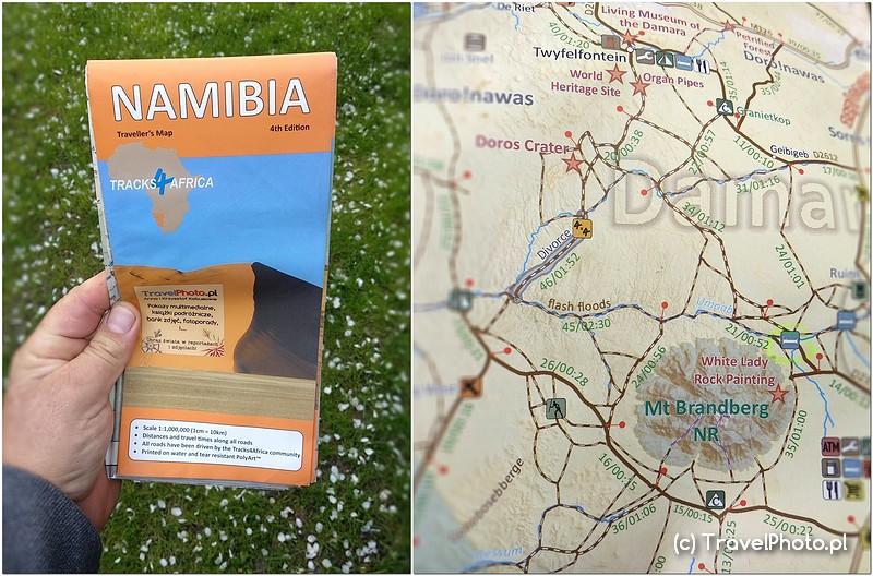 NAMIBIA – najlepsza mapa to Tracks4Africa