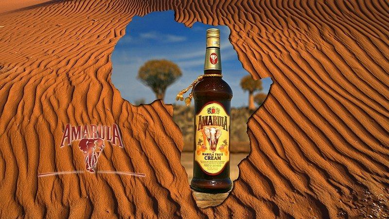 NAMIBIA - Amarula w krajobrazie i w Afryce