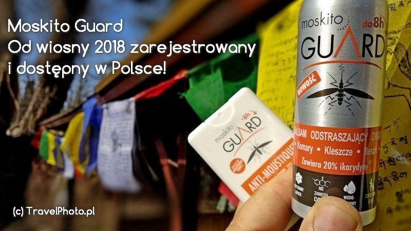 Moskito Guard - repelent XXI wieku!