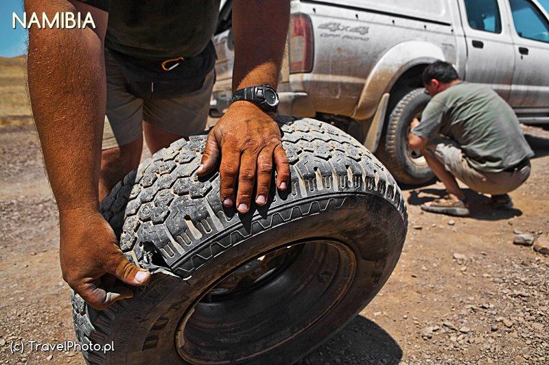 NAMIBIA - jak jedziecie na self drive to na 99% Was to czeka!