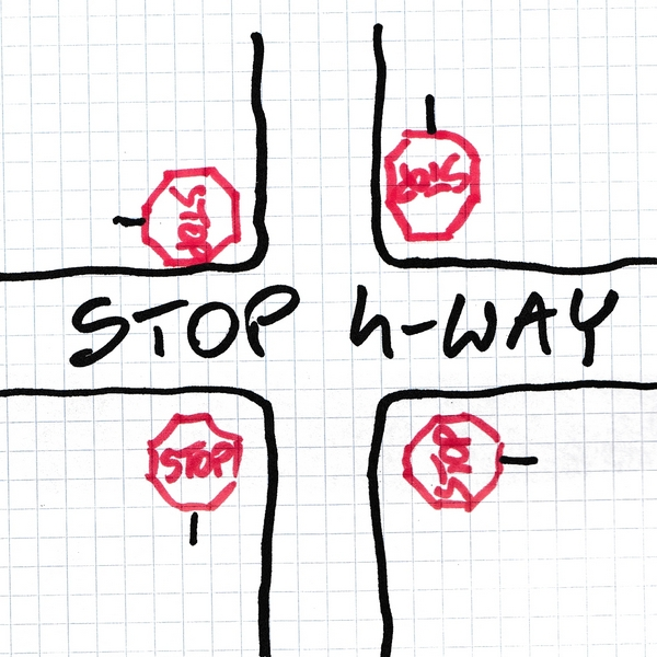 Namibia: STOP 4-WAY