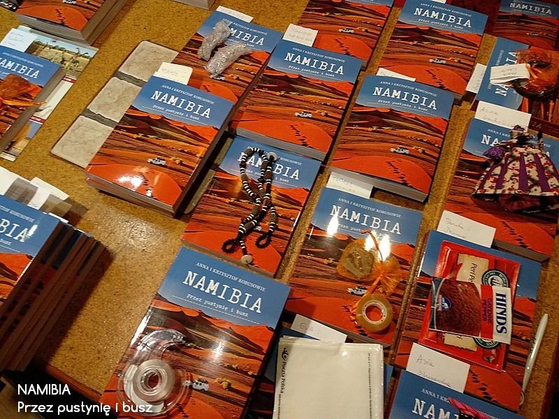 Wysyłamy książki NAMIBIA. Przez pustynię i busz