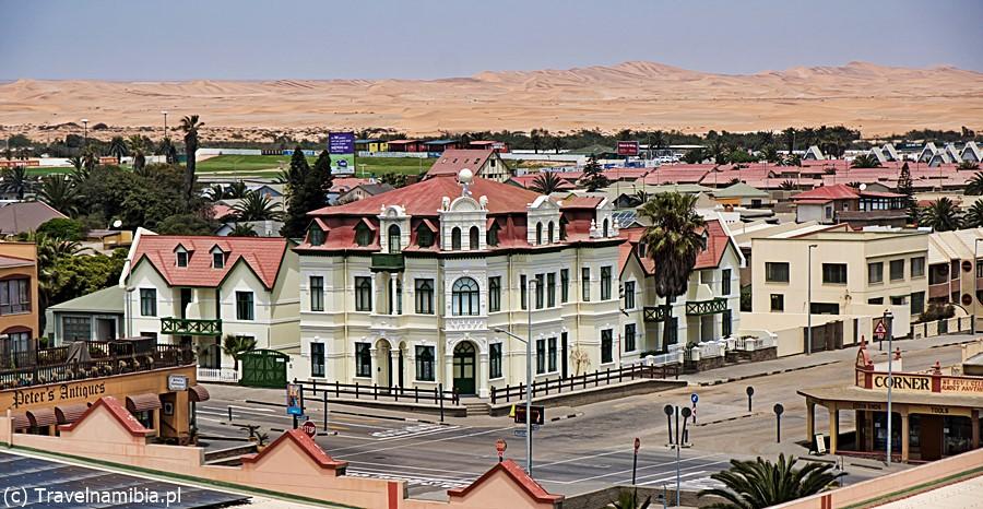 Swakopmund: sklepy, morze, pustynia - każdy znajdzie tu coś dla siebie!