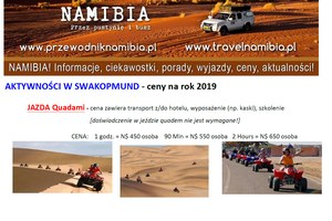 Aktywności w Swakopmund