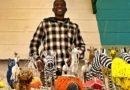 Swakopmund – artystyczne rzeźby z koralików i drutu Wellingtona Mushonga