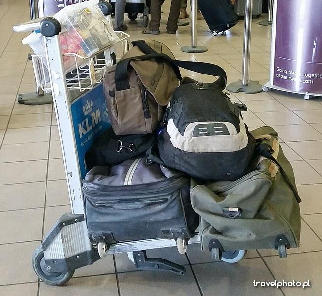 Lista rzeczy przyda się przy pakowaniu. I pamiętajcie, że z Namibii wszystko wraca solidnie zakurzone!