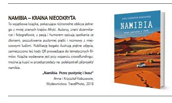 """O naszej książce w magazynie """"Świat - Podróże - Kultura"""""""
