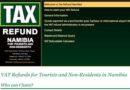 Zwrot VAT dla turystów w Namibii (TAX REFUND)