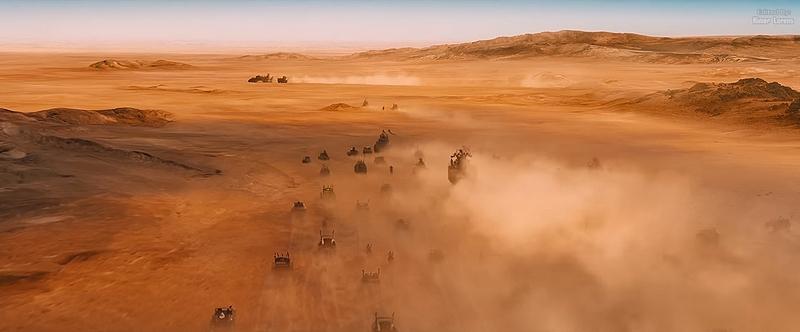 Mad Max kręcony w Namibii