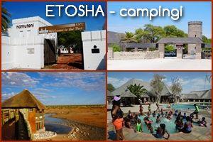 ETOSZA (Etosha) – campingi w parku narodowym