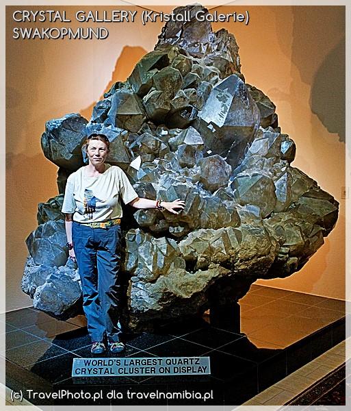 CRYSTAL GALLERY (Kristall Galerie) - Swakopmund - największe skupisko kryształów kwarcu na świecie!