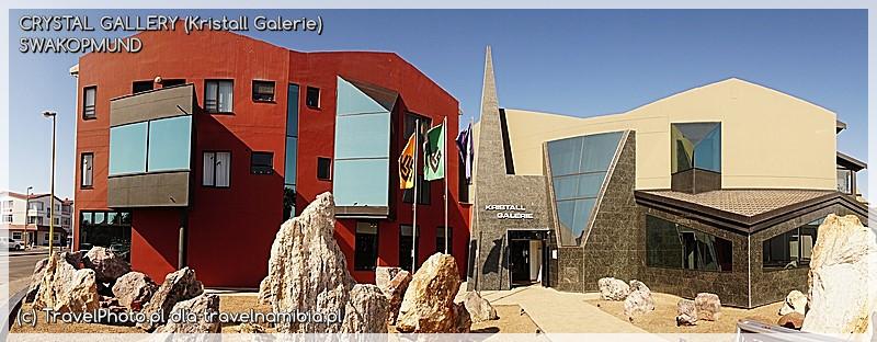 Wejście do Muzeum Kryształów w Swakopmund