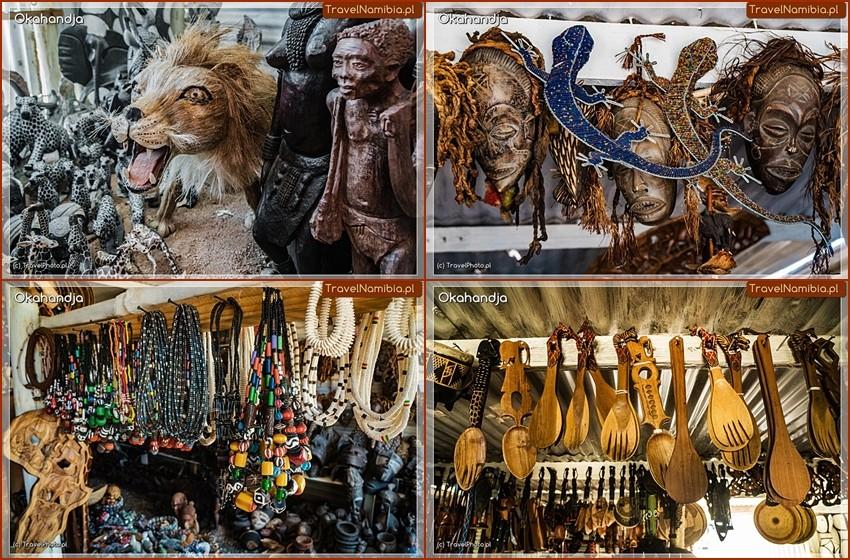 Okahandja Mbangura Woodcarvers Craft Market