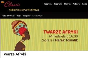 RMF Classic – Twarze Afryki – podcast!