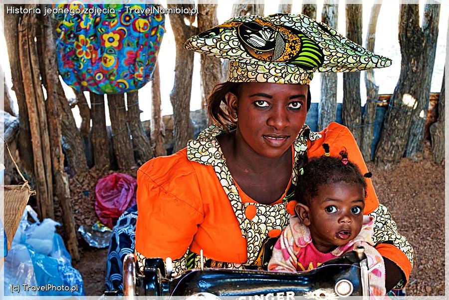 NAMIBIA. Uśmiech Herero – Historia jednego zdjęcia
