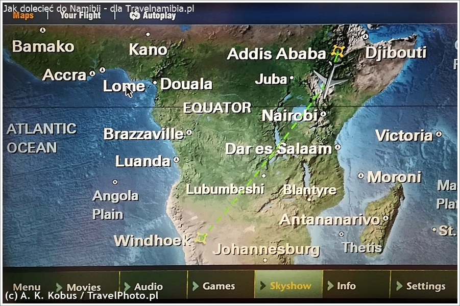 Gdy miniecie Addis - do Namibii jest bliżej niż dalej!