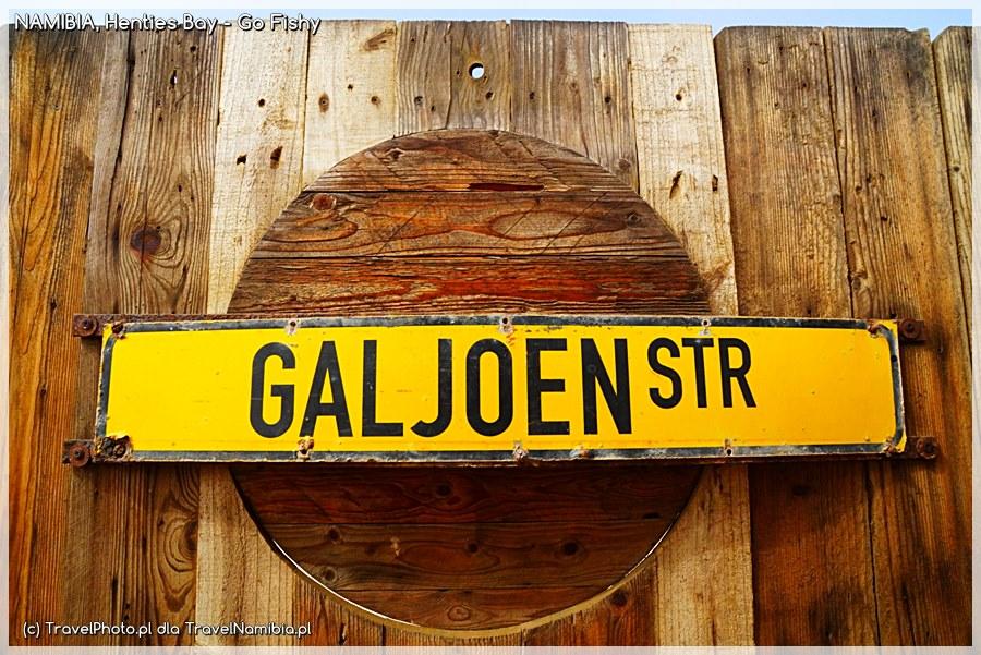 W Henties Bay szukajcie ulicy Galeonu :)