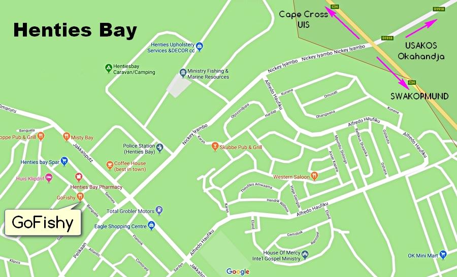 Mapka z Google Maps. Teraz na pewno tu traficie!