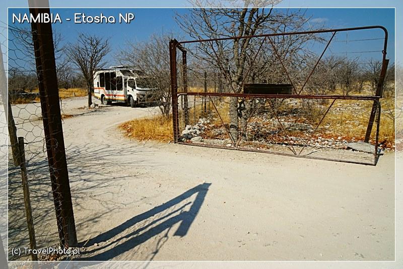 Etosza - miejsce postojowe w parku. Tu można wysiąść!