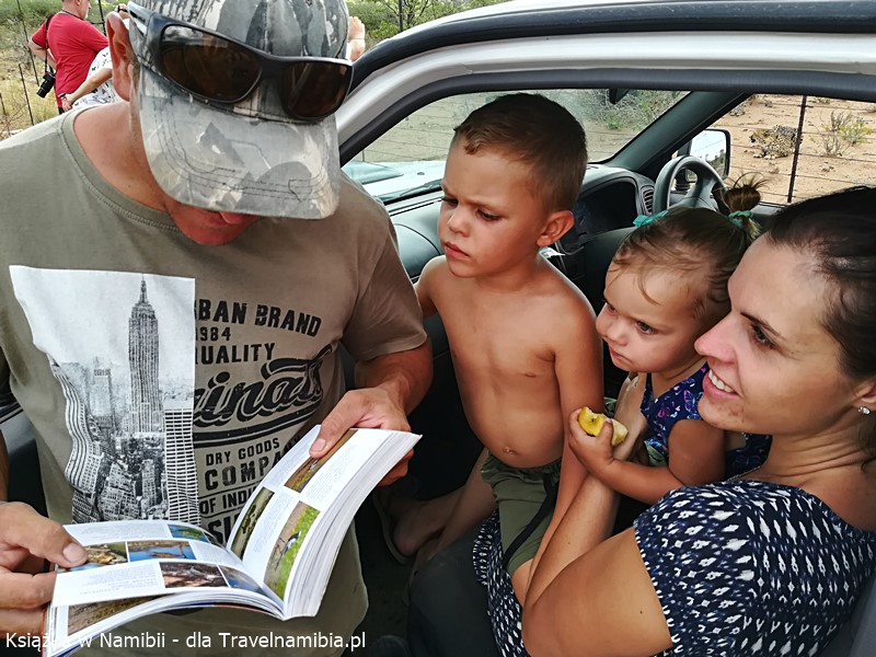 Marco z rodziną (farma Otjitotongwe) - o nich też piszemy.
