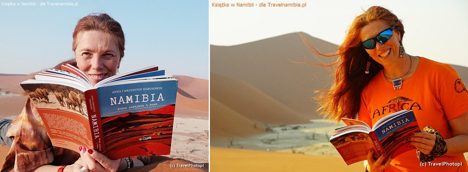 Doskonała lektura na wydmach Pustyni Namib!