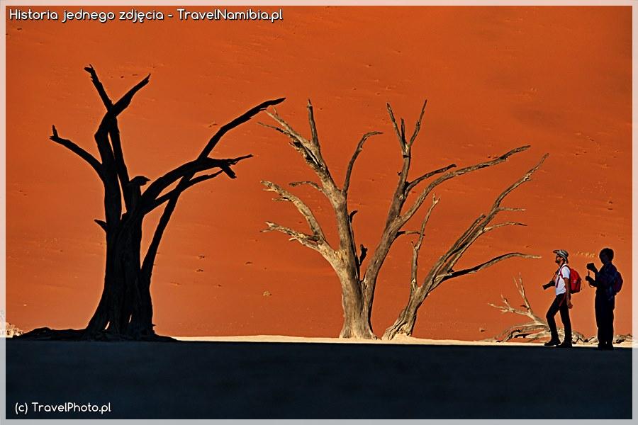 NAMIBIA - Dead Vlei - Historia jednego zdjęcia