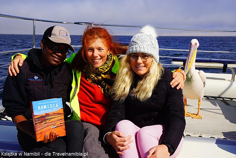 Ja i dziewczyny z Mola Mola w Walvis Bay.