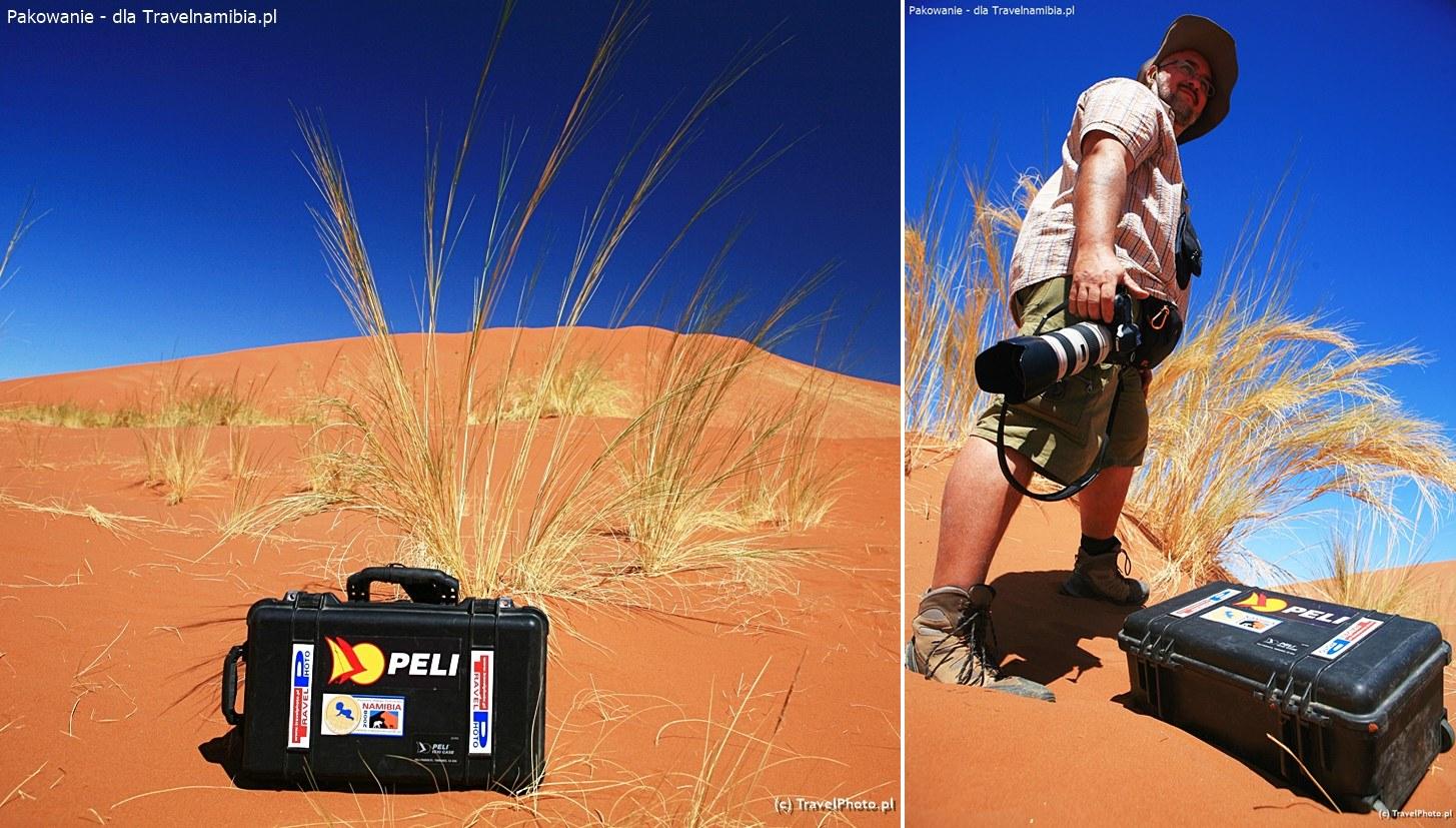 Wyjątek wśród sztywnych walizek: skrzynia PELI na sprzęt foto. Nie do zdarcia!