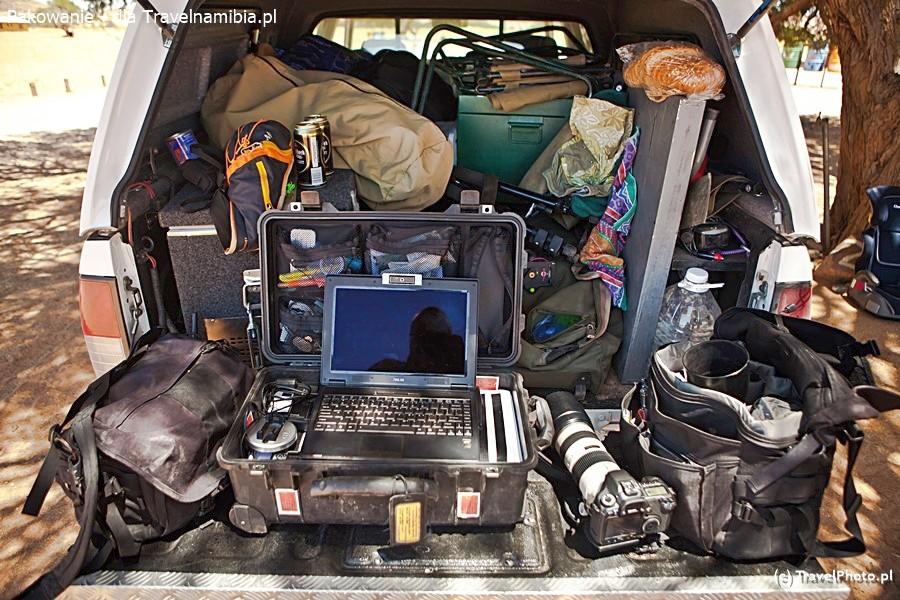 Pakowanie auta to sztuka, zwłaszcza gdy masz tyle rzeczy!