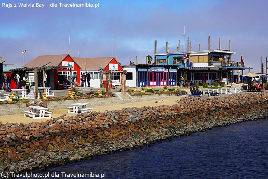 Marina w Walvis Bay.