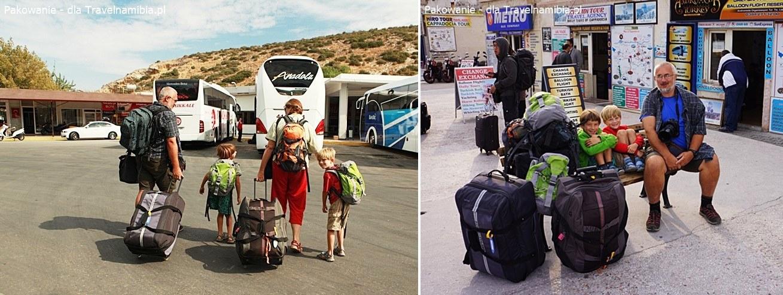 Miękkie torby w czasie czterotygodniowej podróży po Turcji świetnie się sprawdziły.
