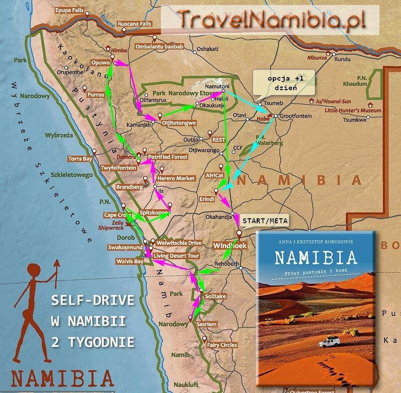 Self-Drive w Namibii - 2 tygodnie (TravelNamibia.pl)