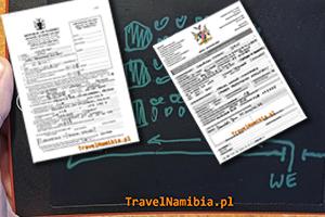 WINDHOEK LOTNISKO – wizy i inne procedury