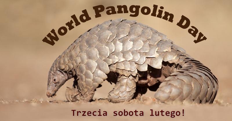 Światowy Dzień Pangolinów, World Pangolin Day