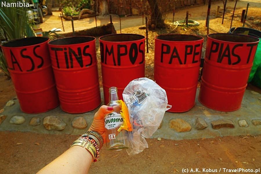 Praktycznie wszędzie jest recycling.