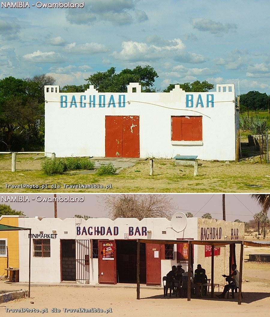 Przy drodze są dwa Bagdad Bar. Przypadek? Nie sądzę...
