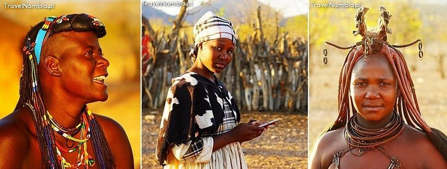 Wioska koło Opuwo - spotkanie z Zemba, Herero i Himba.