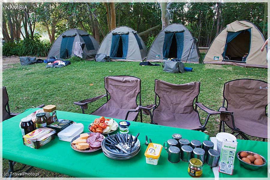 Kunene - camping dla większej ekipy.