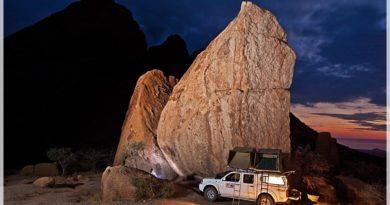 10 kultowych campingów w Namibii