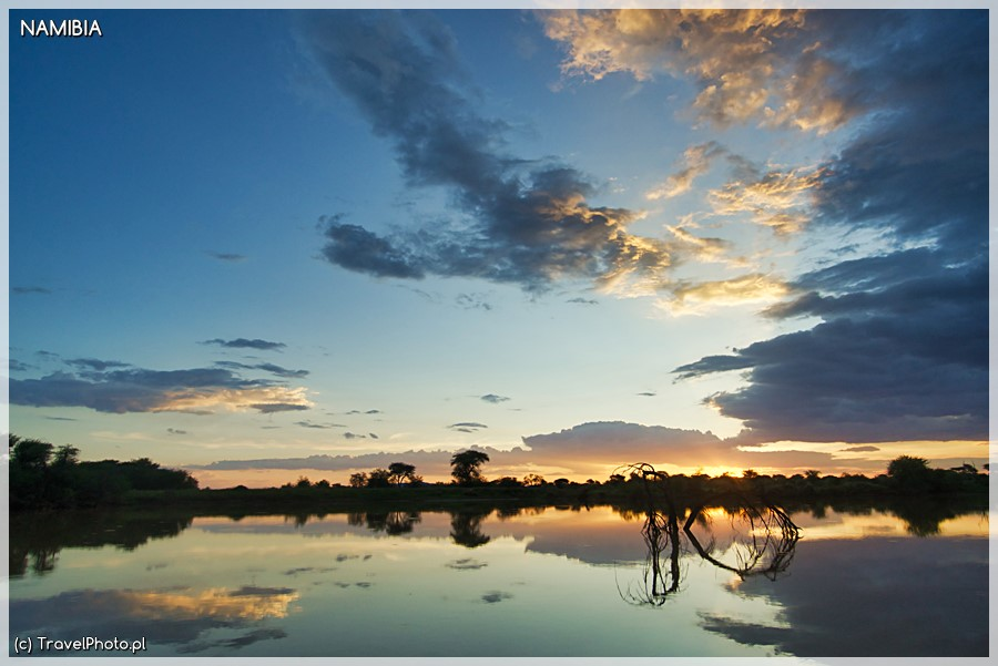Otjiwa - z campingu widać malownicze zachody słońca.