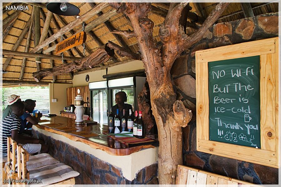 Bar w Palmwag.