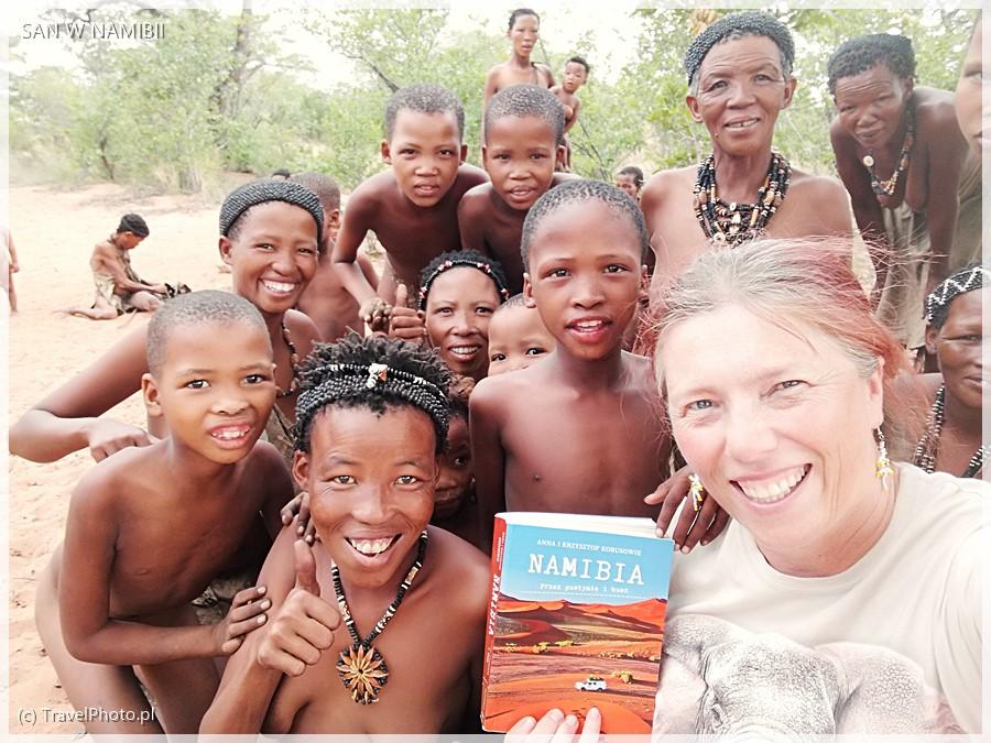 Nasza książka o Namibii bardzo się tu spodobała!
