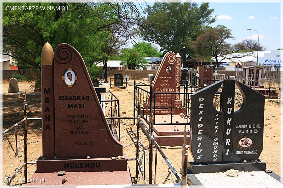 Cywilna część cmentarza.