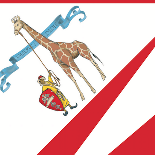 Żyrafa w herbie dzielnicy Sieny.