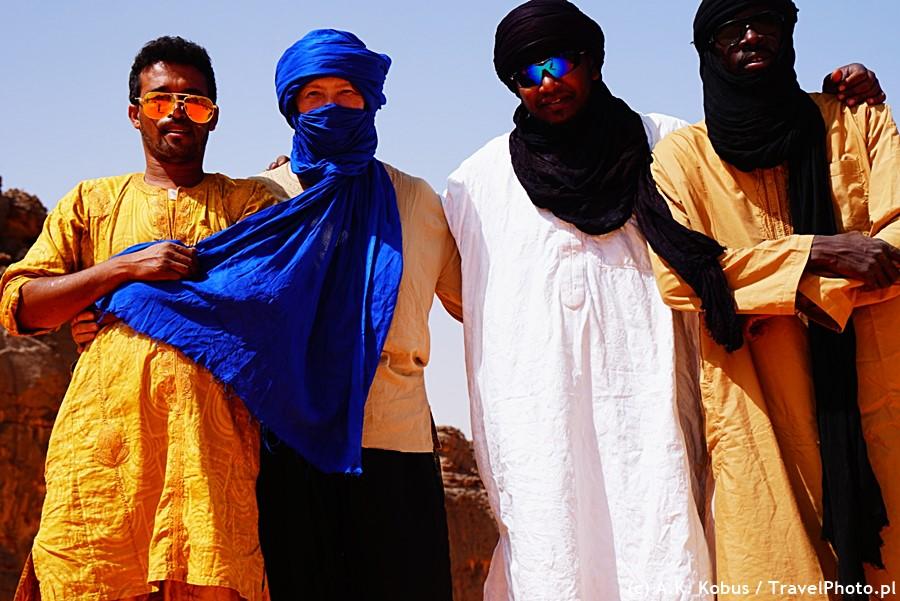 Z Tuaregami na Saharze.