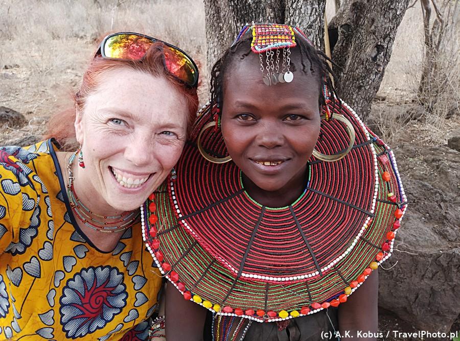 Z pięknością ludu Pokot (Kenia).