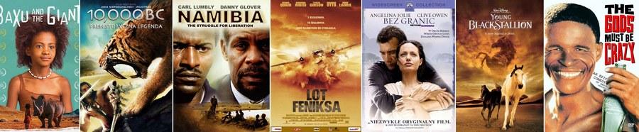 Filmy o Namibii lub kręcone w tym kraju.