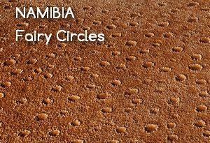 Namibijskie Fairy Circles (Tajemnicze Kręgi) – 1000000+